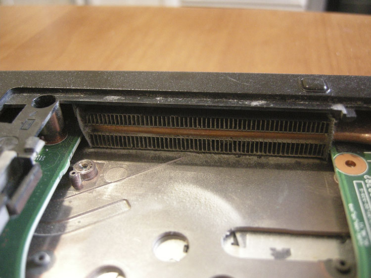 Laptop cooling radiator