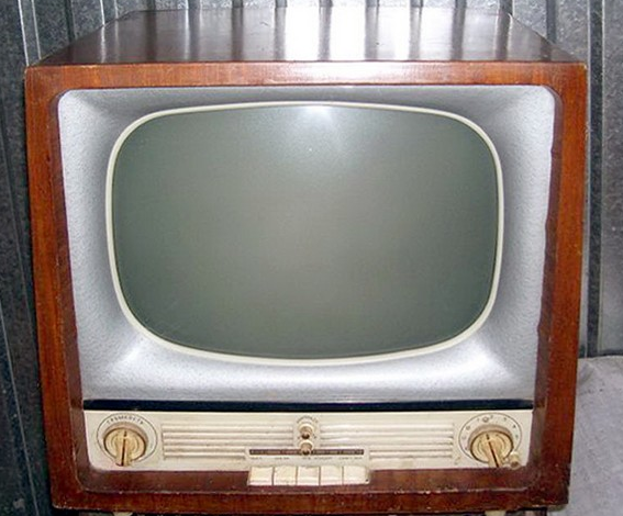 History TVs from 1920 till today