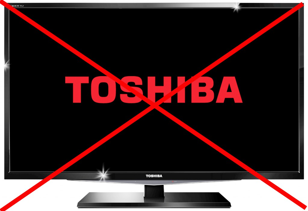 Toshiba TV no