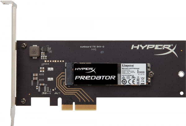 Kingston HyperX Predator PCIe SSD